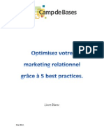 Optimiser Son Marketing Relationnel
