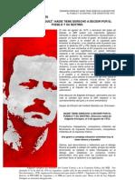 EDGARDO ENRÍQUEZ - NADIE TIENE DERECHO A DECIDIR POR EL PUEBLO Y SU DESTINO- 4 de agosto de 1973.