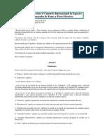 Convencion Internacional Comercio de Especies Amenazadas de Fauna y Flora