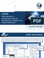 CARA User Interface for Documentum Alfresco Oracle