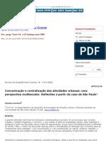 Lencioni_Concentração e centralização das atividades urbanas_ uma perspectiva multiescalar_2008