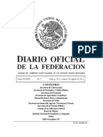 Dof 110813 Mexico
