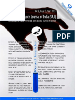 Scientific Research Journal of India _SRJI_ Vol- 2, Issue- 3, Year- 2013
