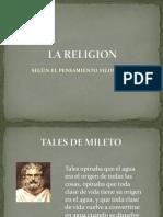 La Religion Segun La Filosofia