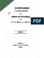 Diccionario de Antiguedades Del Reino de Navarra