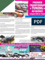 Journal de Montréal - CarFever 2009