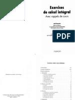 Exercices Calcul Intégral ( Livre-technique.com)