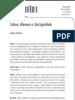 Cultura Diferenca Desigualdade Contemporanea PDF 2011