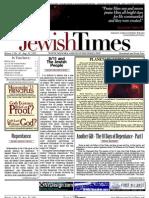 Jewish Times - Volume I,No. 30...Aug. 30, 2002