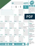 Calendario AGOSTO Exatas