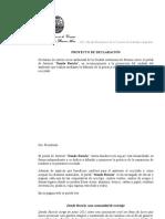 Proyecto de Declaracion de Interes Al Portal de Internet Donde Reciclo