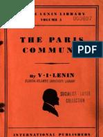 Lenin the Paris Commune
