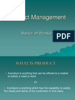 1. Basics of Product