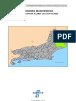 74487800 Campos Dos Goytacazes Informacoes Socio Economicas
