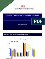 Perspectivas de la economía peruana 2008