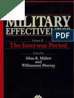 Military Effectiveness Vol II