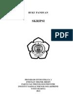Buku Panduan Skripsi (S1)