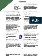 Cancionero Pag. 1 Al 5