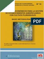 Indicadores Economicos Para La Gestion de Establecimientos Agropecuarios
