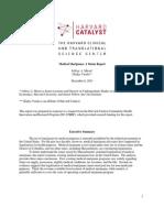 Harvard Catalyst _ Medical Marijuana a Status Report - Jeffrey Miron - Gladys Varela 12-6-11