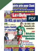 LE BUTEUR PDF du 31/05/2009