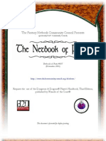 D&D 3rd Edition - Net Book of Feats