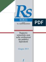 Rapporto Semestrale 1-2013