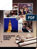 GE 1987 Lamp Catalog