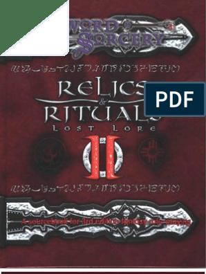 D&D 3rd Edition - Relics & Rituals 2 | Magic (Paranormal) | D20 System