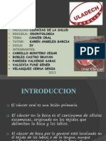 Tratamiento Del Cancer Oral en Odontologia Grupal Exposicion PDF 2