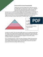 ptsd spectrums with gun control proposal draft