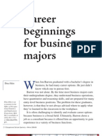 careers for business majors