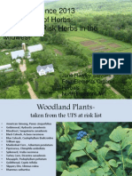 Horticulture of Herbs - Growing at risk Medicinals in the Midwest