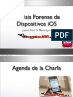 Analisis Forense en Dispositivos Ios - Charla
