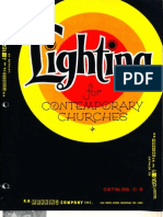 Manning Contemporary Church Lighting Catalog C8 4-75