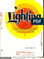 Manning Contemporary Church Lighting Catalog C9 7-80