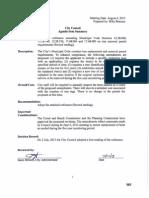 Adopt an Ordinance Amending Municipal Code Sections 12.28.060 08-06-13