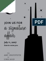 Evening Associates Fundraiser - Signature Affair