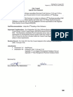 Ordinance Amending Municipal Code Sections 17.42 and 17.43 08-06-13