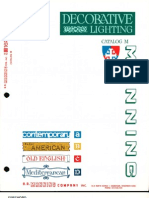 Manning Decorative Lighting Catalog M 10-72 Rev.
