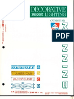 Manning Decorative Lighting Catalog M2 10-82