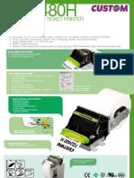 Datasheet Custom TG2480 H