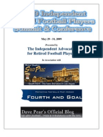 Independent Retired Football Players Summit Program