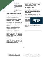 Cancionero Pag. 21 Al 31