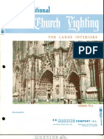 Manning Traditional Church Lighting Large Interiors Catalog TL2 8-75