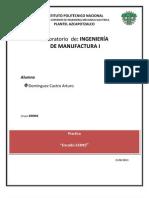 Ing. de Manufactura Fundicion