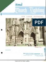 Manning Traditional Church Lighting Large Interiors Catalog TL2 1-90