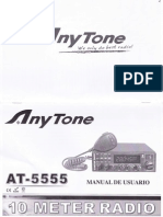 Anytone AT-5555 Manual español. By 30LS001.