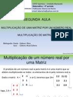 02 - MULTIPLICAÇÃO DE MATRIZ