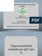 Hipersensibilidad Mediada Por IgE (Tipo I) (1)